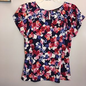 Lovely floral Express blouse